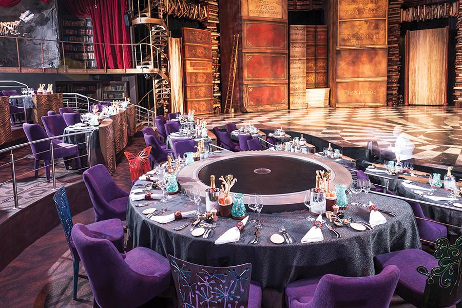 jet news cirque du soleil dinner experience