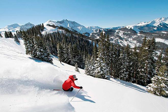 El lugar más hermoso para esquiar