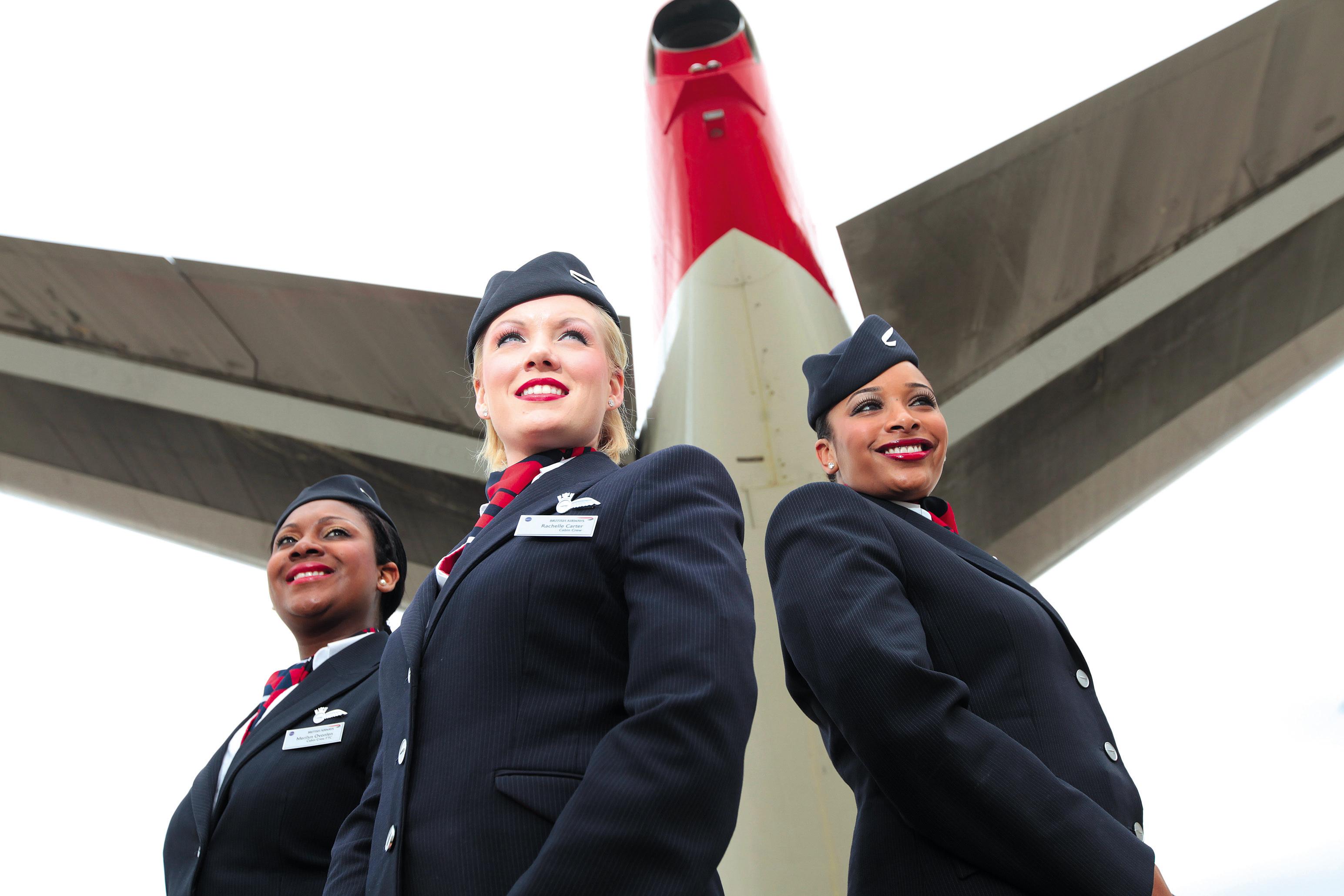 Presencia de mujeres en la aviación