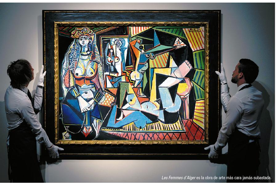 Óleo de Picasso rompe récord