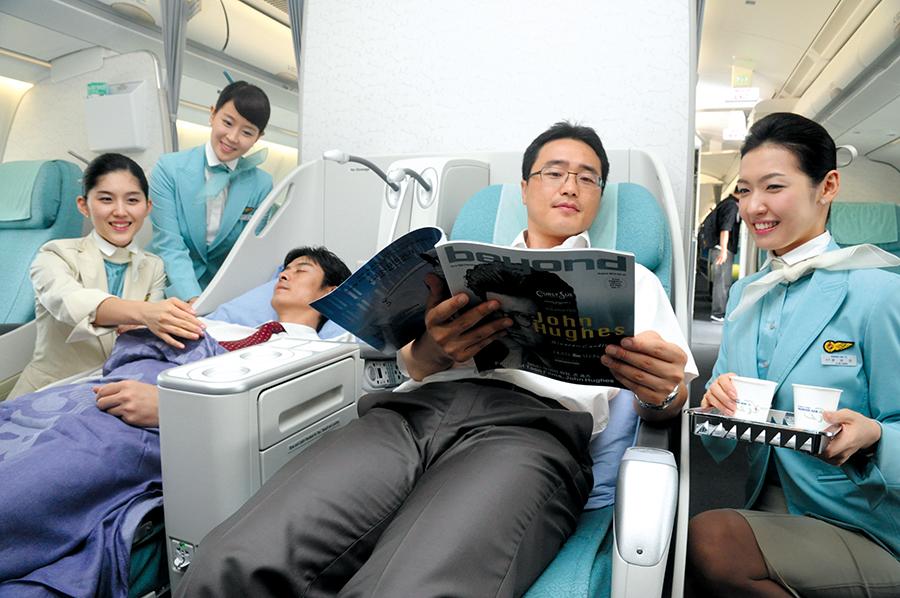 Korean Air de las favoritas de Asia