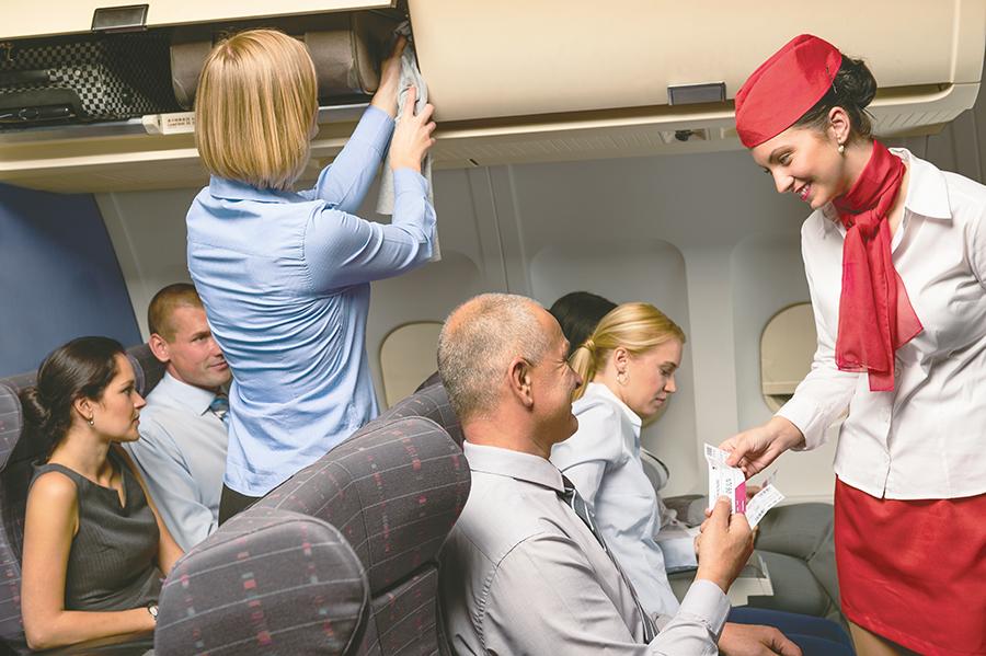 Viaja en avión después de una cirugía