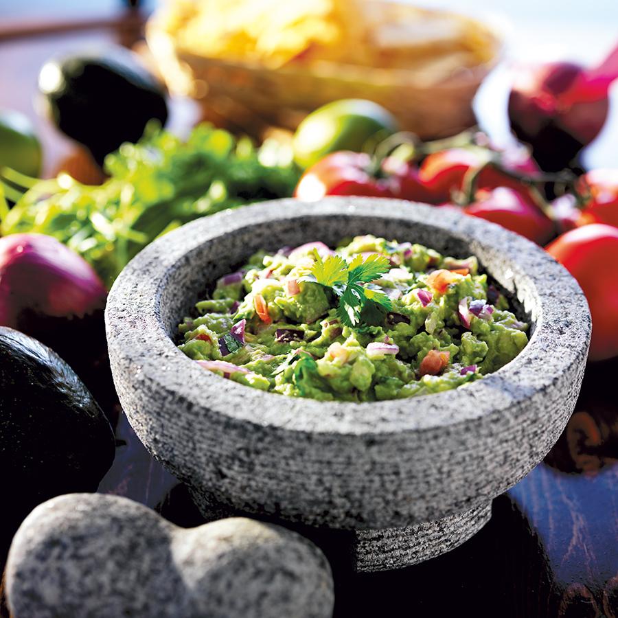 Festival de chiles, salsas y molcajetes