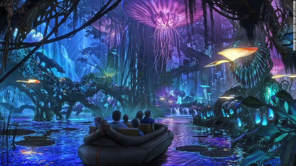 Tierras temáticas aterrizan en Walt Disney World