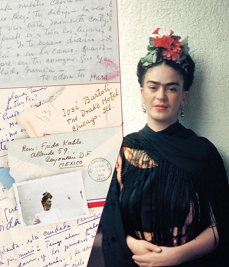 En la intimidad de Frida Kahlo