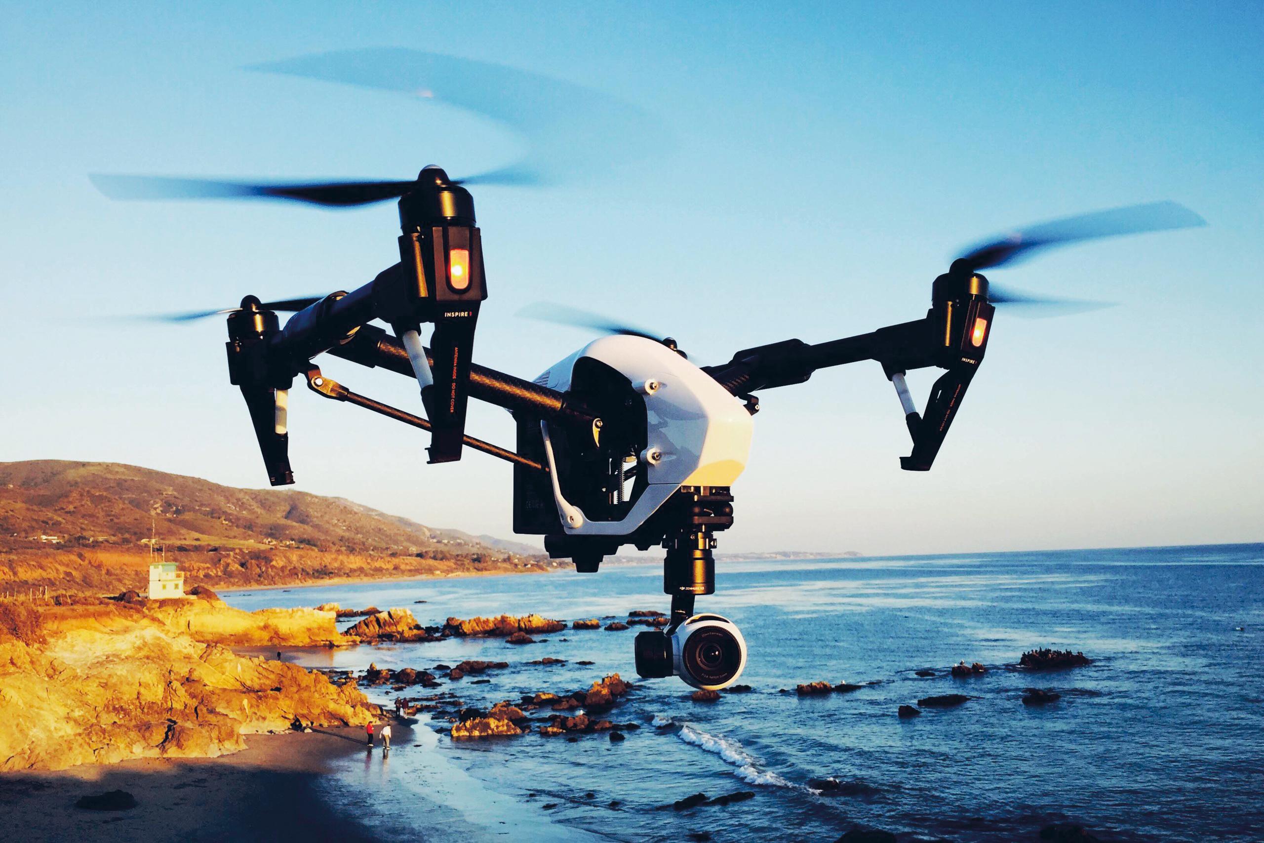 Captura de imágenes por medio de drones