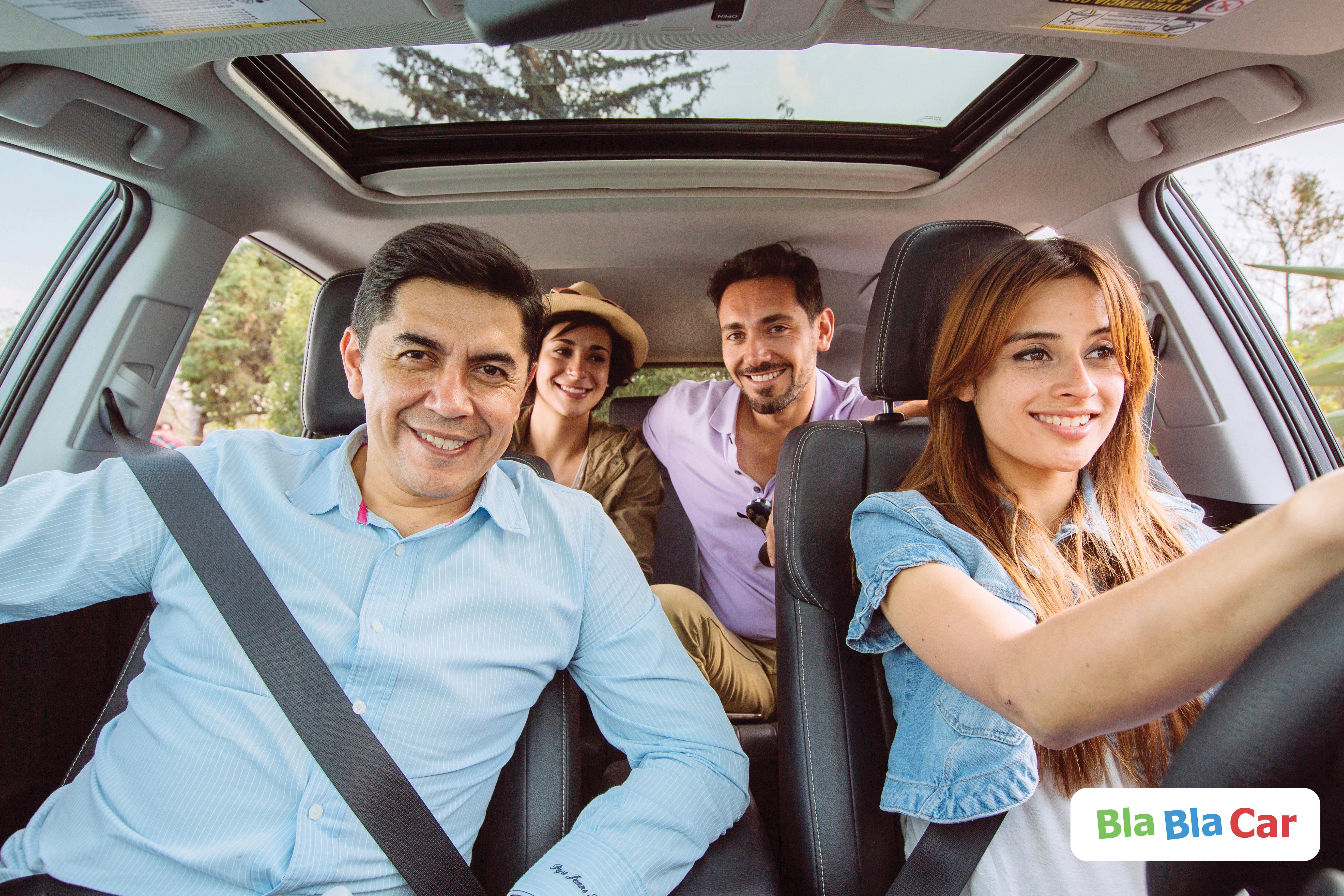 Viaja por México y comparte auto