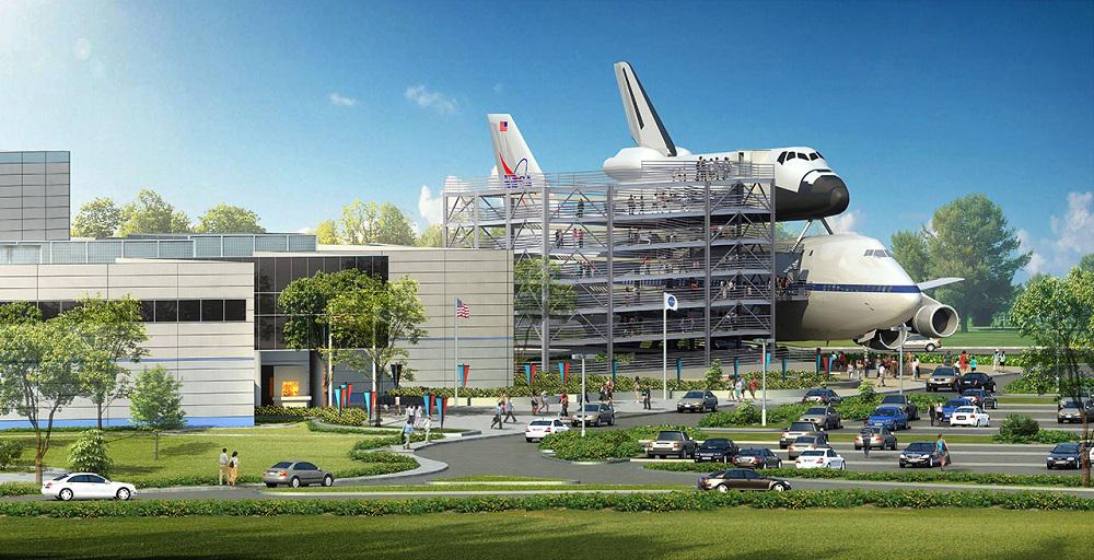 Independence Plaza,Transbordador Espacial