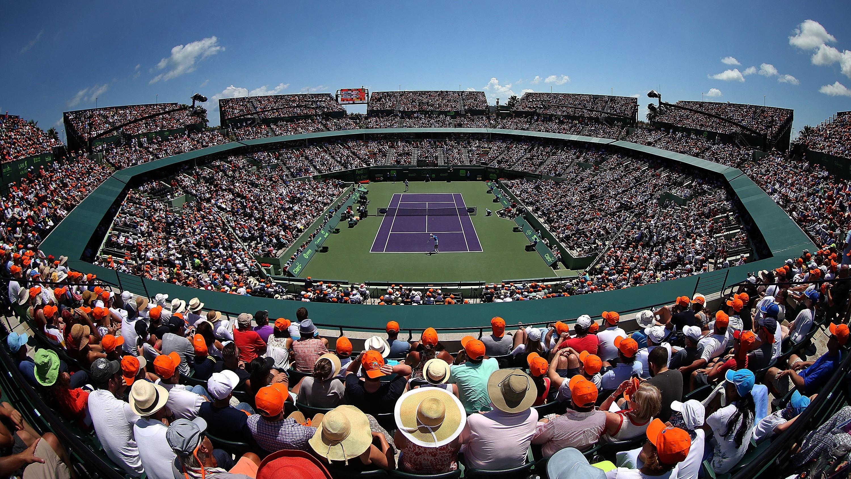 Inicia el Abierto de Tenis en EU