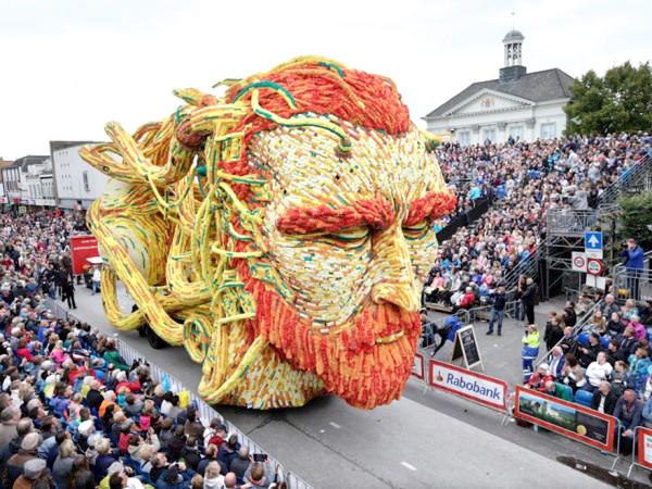 Festival de esculturas gigantes en Zundert Holanda