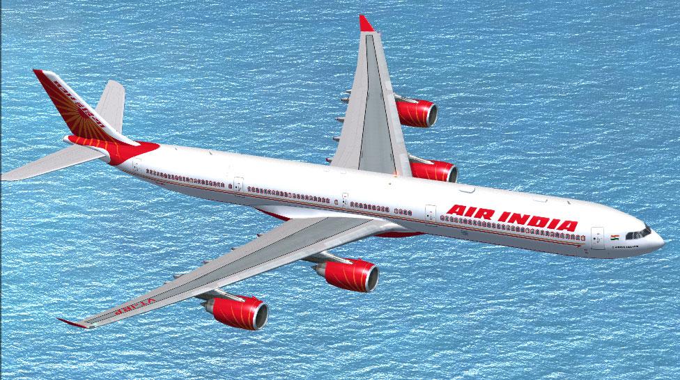 Viajes en avión por un dólar, en la India