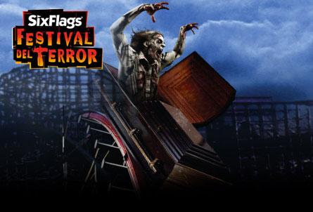 Festival del Terror en Six Flags México