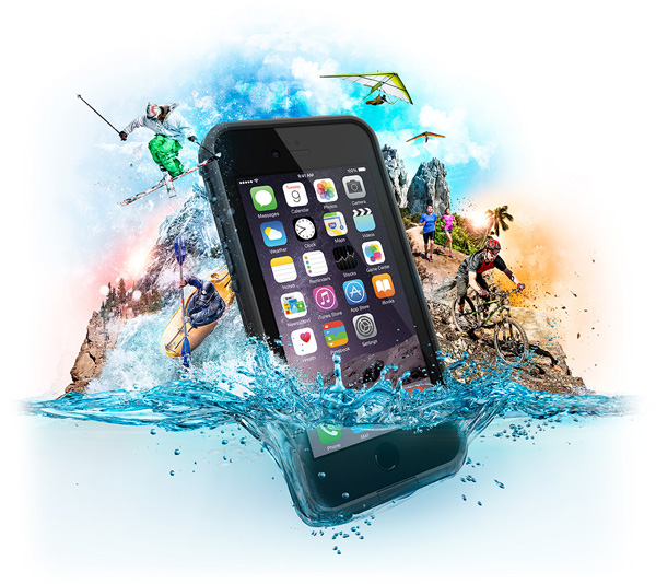 Funda protectora Lifeproof para iPhone y iPad