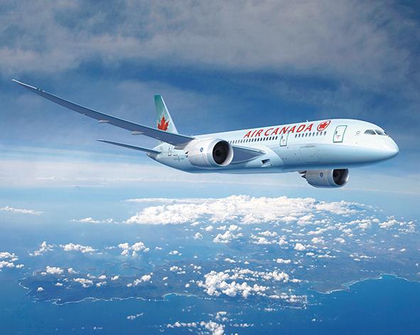 Air Canada estrena su primer B787-9 Dreamliner