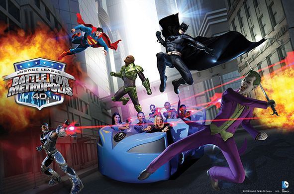 Justice League: Battle for Metropolis llega a México en 2016