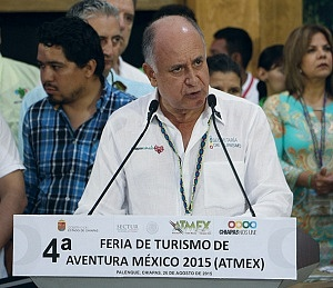 Mario Uvence secretario de Turismo de Chiapas