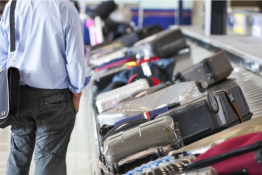 Cuando la maleta no llega con el vuelo