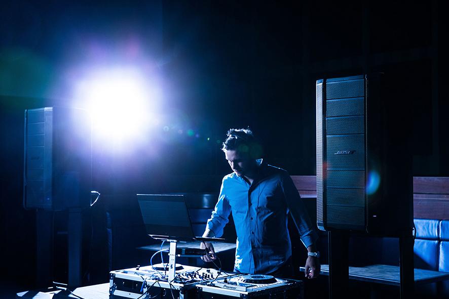 Sistema de audio profesional Bose