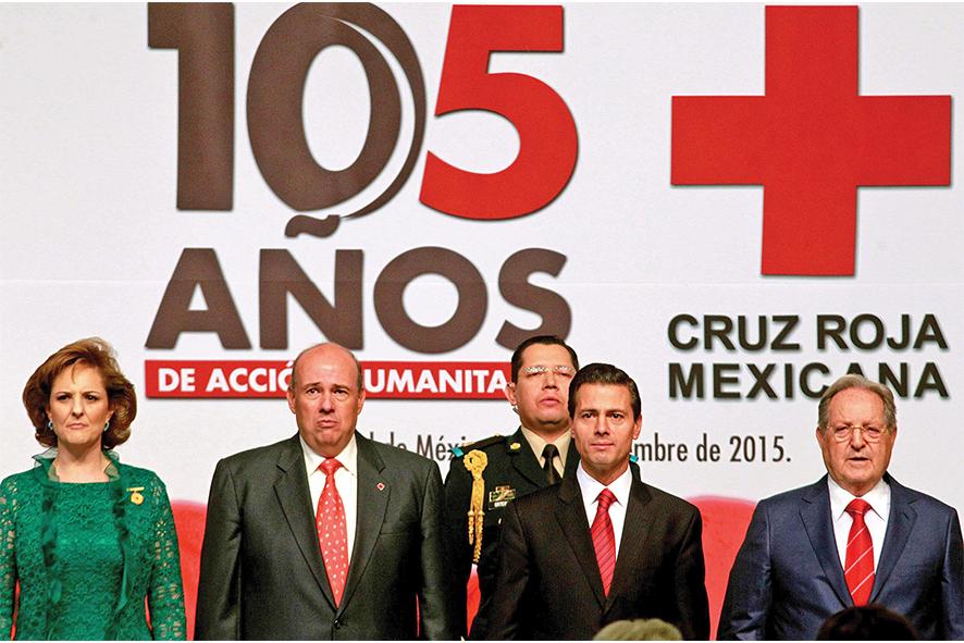 La Cruz Roja Mexicana cumple 105 años