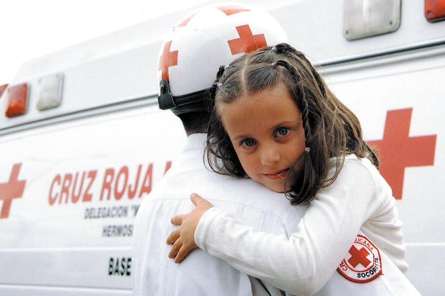 Cruz Roja 105 años de servicio ininterrumpido
