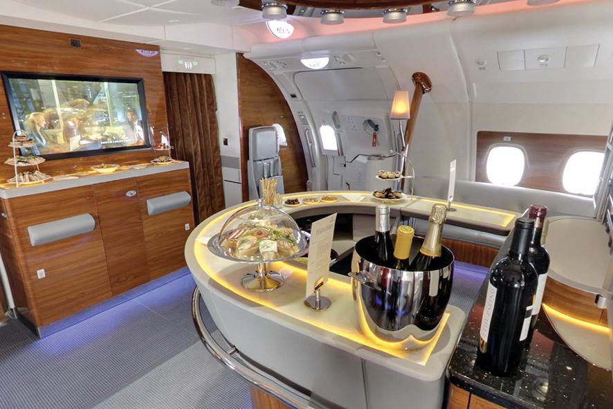 Emirates Airlines ofrecerá vinos  premium