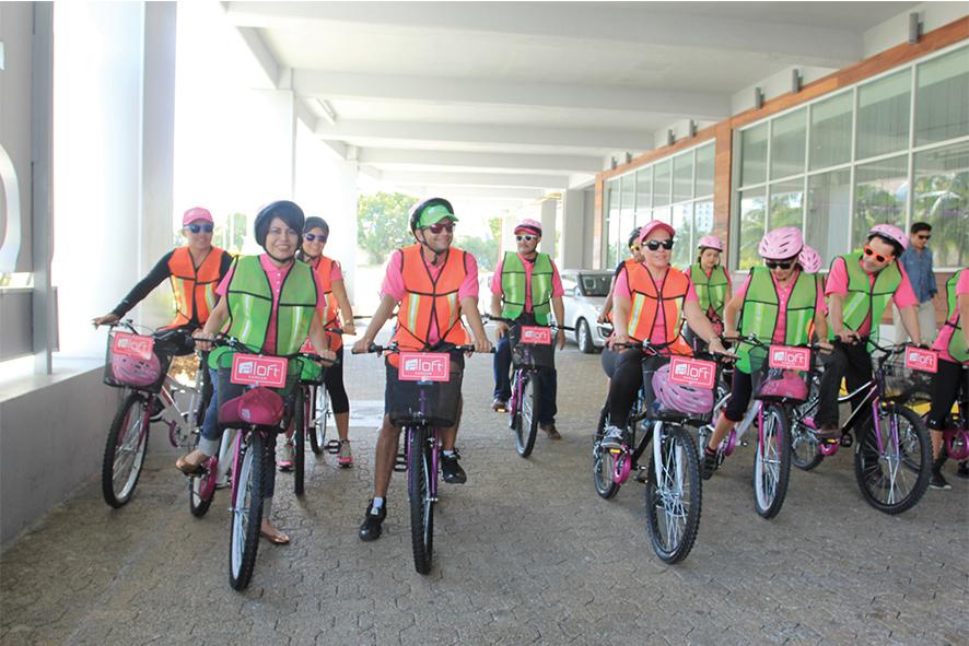Cancún en bicicleta