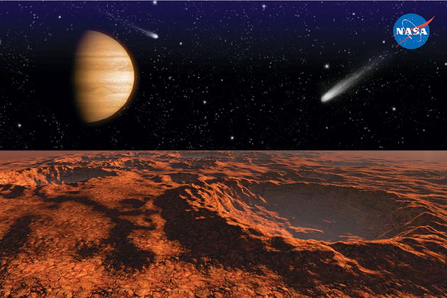 Científicos de la NASA encuentran rastros de agua en Marte