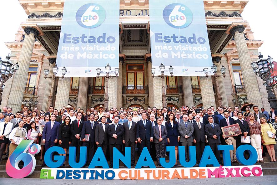 Guanajuato, sexto estado más visitado de México