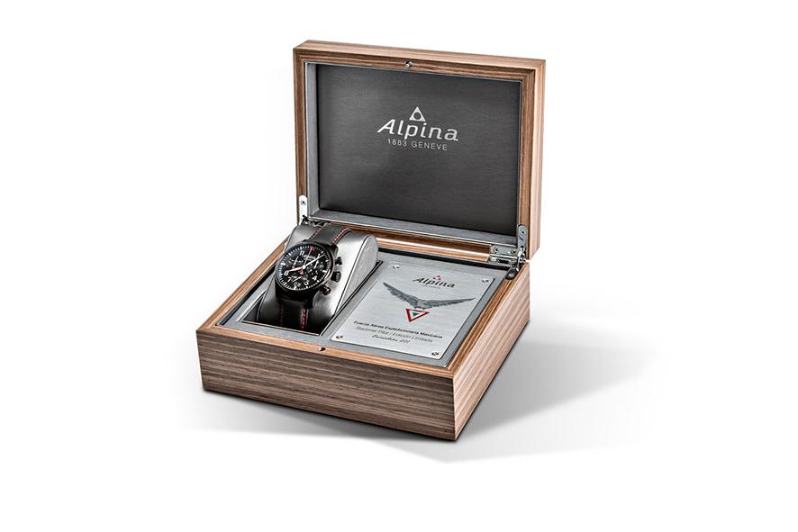 Reloj Alpina en homenaje al Escuadron 201
