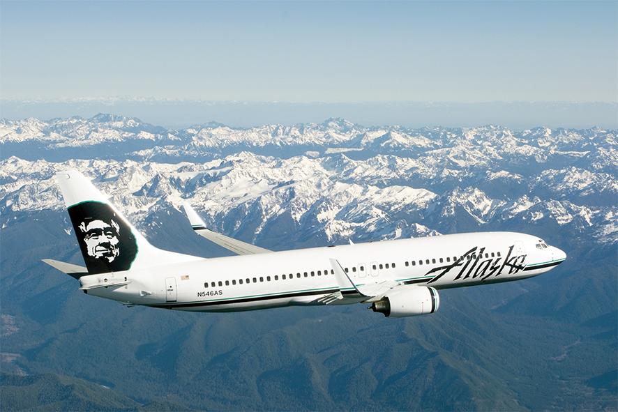 Alaska Airlines llega a Costa Rica