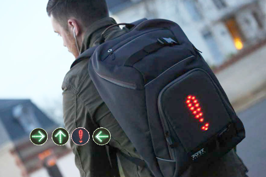 Mochila Go led con luces intermitentes