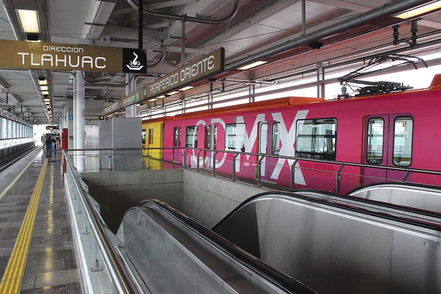 Wifi en el metro de la Ciudad de México