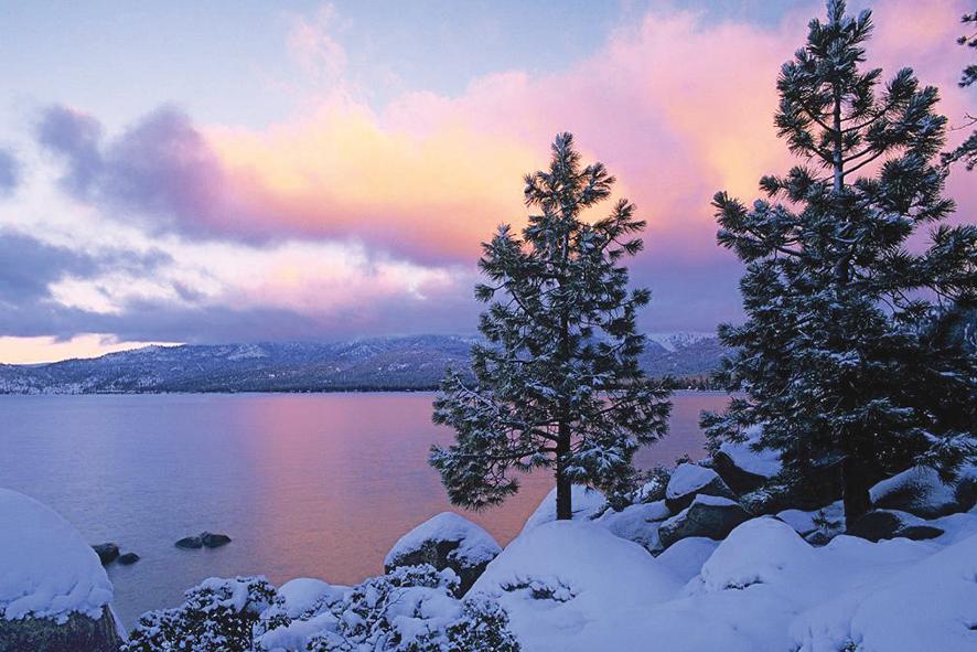 Lake Tahoe, todo del año