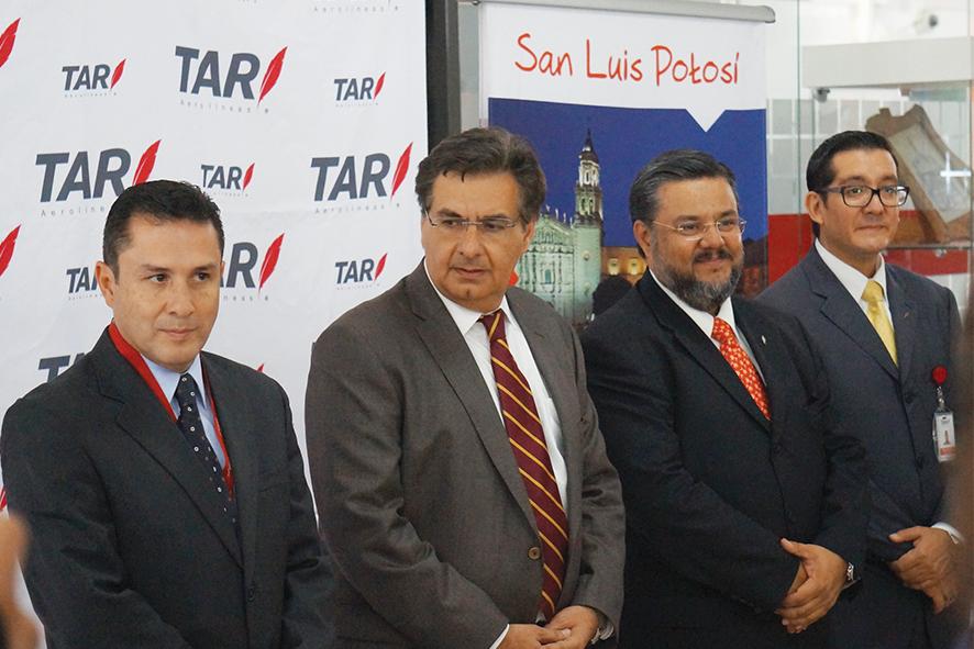 Transportes Aéreos Regionales llegan a San Luis Potosí