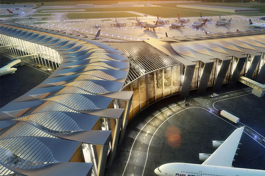 Entre los más sustentables, el nuevo aeropuerto de México