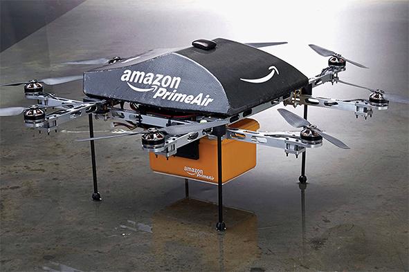 Amazon entrega a domicilio en drones