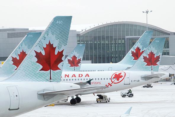 Air Canadá, la preferida de los viajeros de negocios