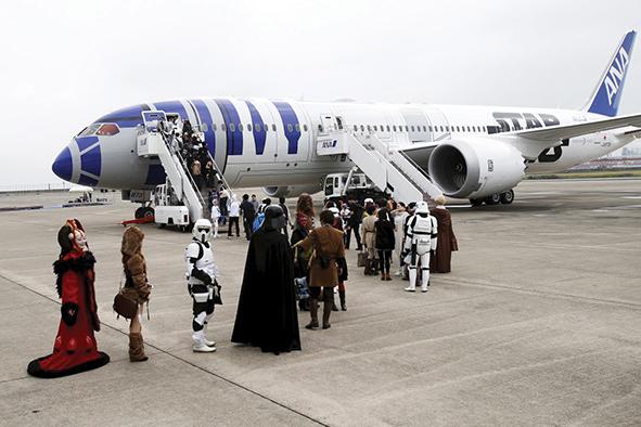 Star Wars invade el aeropuerto de Singapur