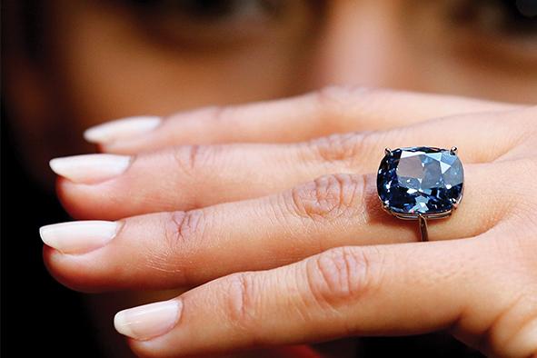 Blue Moon Diamond rompe récord