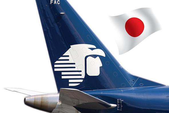 Aeroméxico volará directo a Tokio desde la Ciudad de México