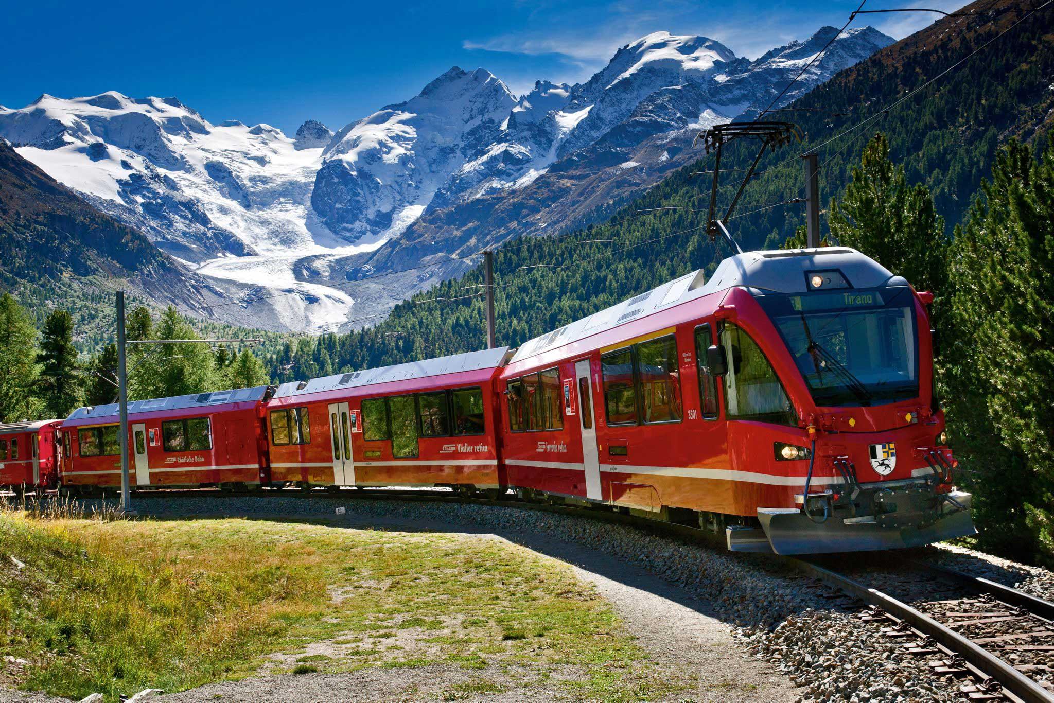 Trenes panorámicos en Europa