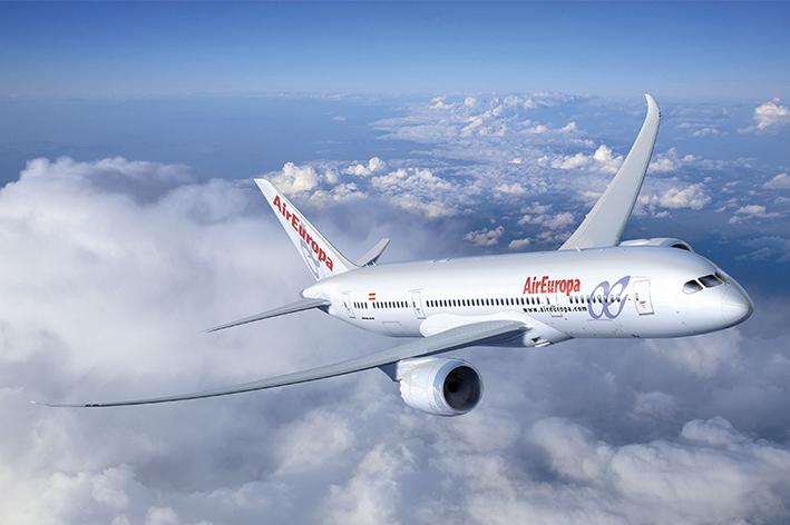 Air Europa llega a Sudamérica