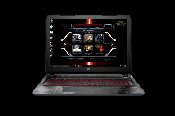 Laptop HP Star Wars