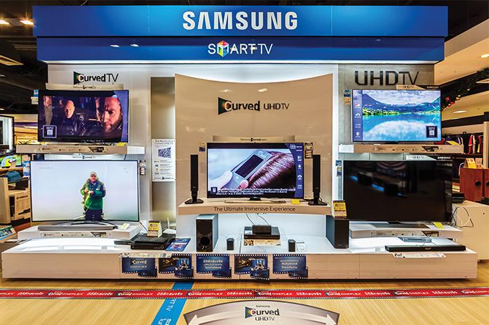 Samsung incrementa venta de televisores