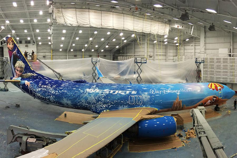 Los mejores 9 aviones comerciales pintados