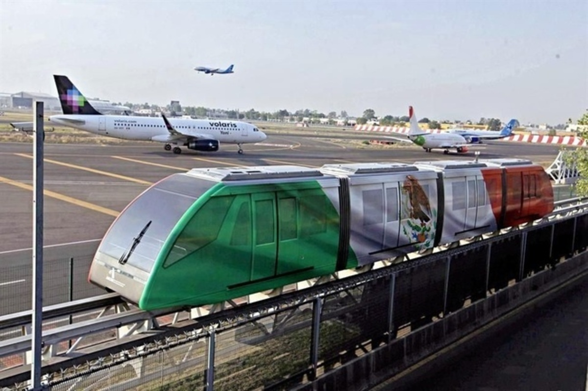 Aerotrén del AICM cierra temporalmente por mantenimiento