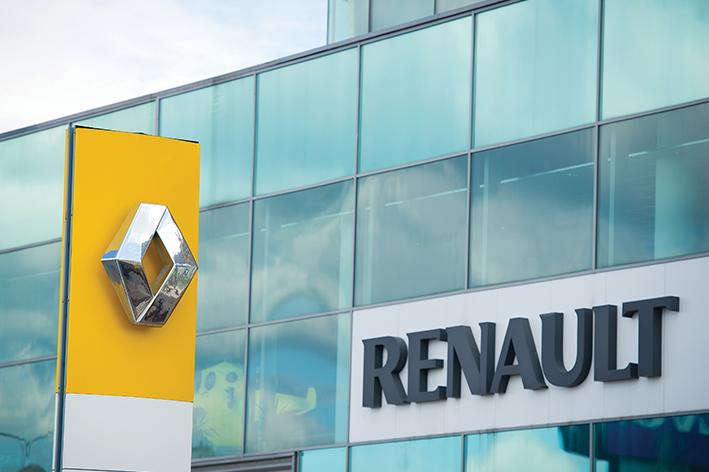 Renault registra aumento en ventas