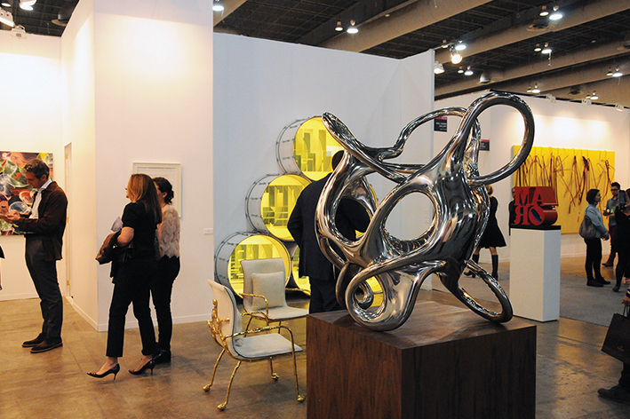 Zona Maco gala de arte contemporáneo