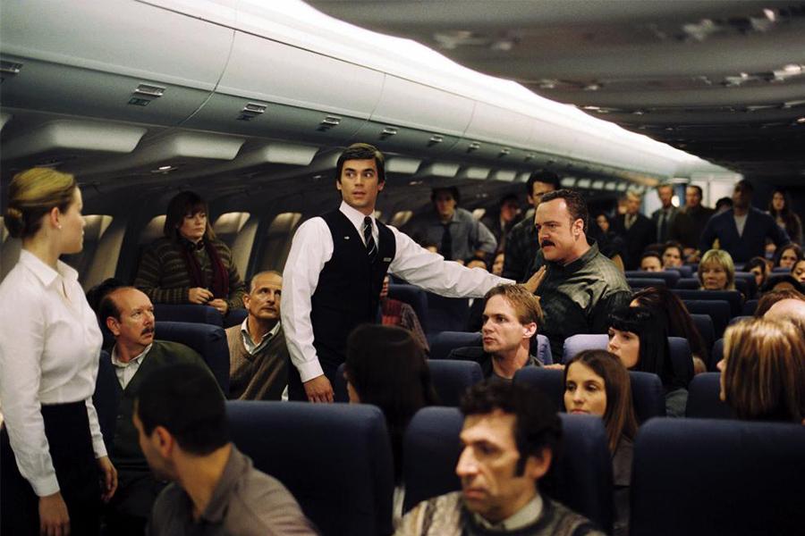 ¿Cómo se graban las películas dentro de los aviones?