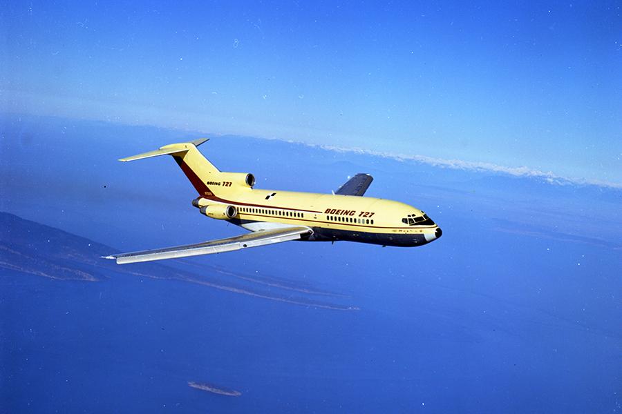 El último adiós al Boeing 727 tras 52 años de servicio